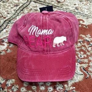 ❤️NWT. ADORABLE MAMA 🐻 Cap